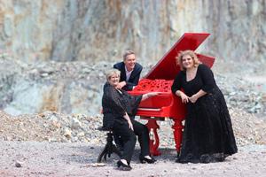 Lovesongs und Chansons mit Colette STERNBERG, Ingolf BAUR und Daniela BREM am 25. März im Zehnthaus